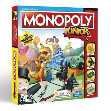 Five Pocket Monopoly Junıor Renkli